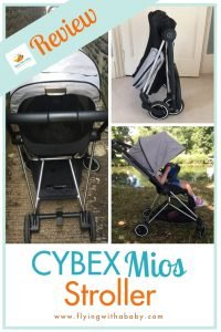 Cybex Mios Review: Want a stroller that's lightweight, easy to fold and perfect for travelling? Try the Cybex Mios - read my review here! #familytravel