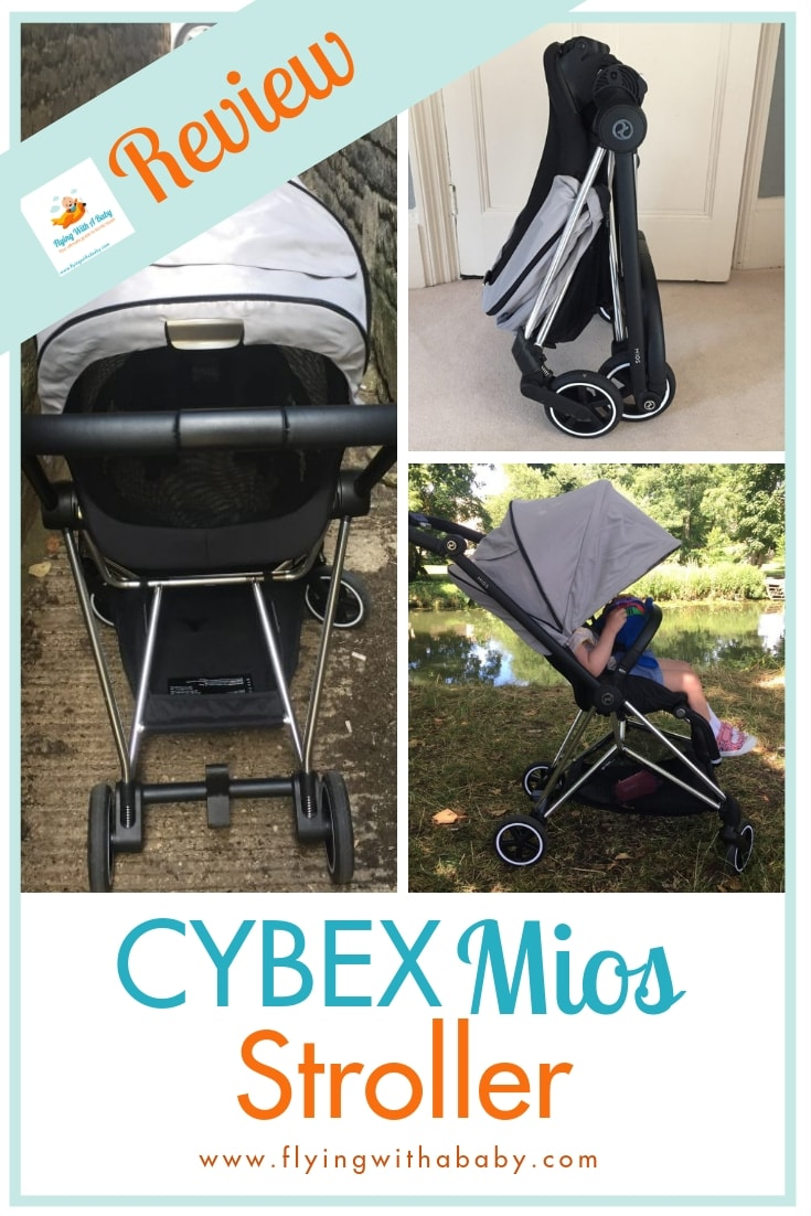 Want a stroller that's lightweight, easy to fold and perfect for travelling? Try the Cybex Mios - read my review here! #familytravel