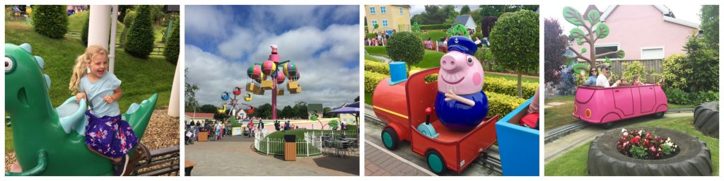 Combine a break in the heart of the forest with a trip to Peppa Pig World  at Paultons theme park.