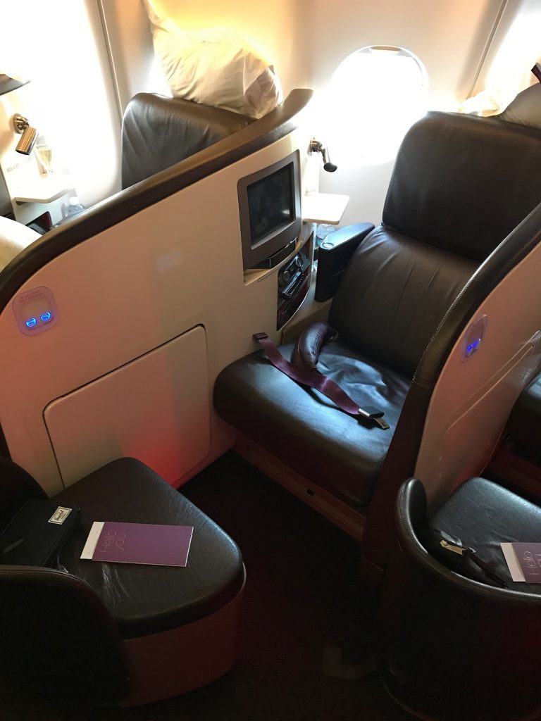 Delta One v Virgin Atlantic Upper Class Review