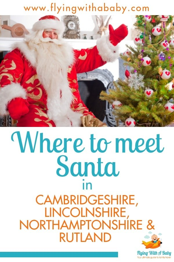Listing of places to meet Santa in the east of England. Meet Father Christmas in his grotto at these various locations this Christmas, including Rutland, Lincolnshire, Cambridgeshire and Northamptonshire #santa #Christmas