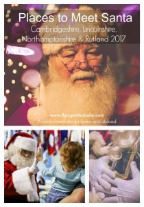 Places to Meet Santa in Cambridgeshire, Lincolnshire, Northamptonshire & Rutland 2017. It may seem like summer has only just passed, but some of the opportunities to meet Santa started selling from September 1st! So, to avoid disappointment, here are all the local places to meet Santa. I've just booked ours, which one will you visit? #santasgrotto #bestlocalsanta #santacambridgeshire #santalincolnshire #santanorthamptonshire #cambridgeshire #lincolnshire #northamptonshire #fatherchristmas #santa #visitsanta