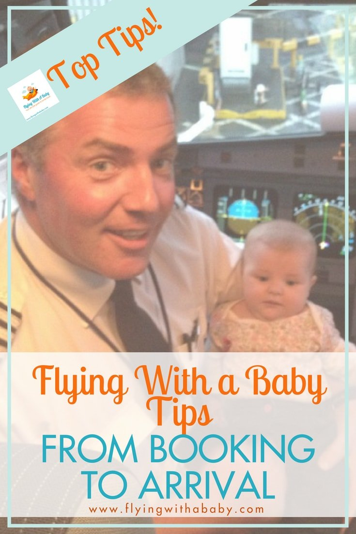 Flying with a baby tips and advice - all you need to know, from booking your flights to arriving at your destination! #familytravel #flyingwithababy #flyingwithkids #traveltips