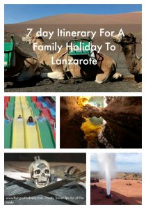 Here are my recommendations for  a 7 day itinerary family holiday to Lanzarote. #familytravel #lanzarote #jetsetkids #volcanoes #familytravel