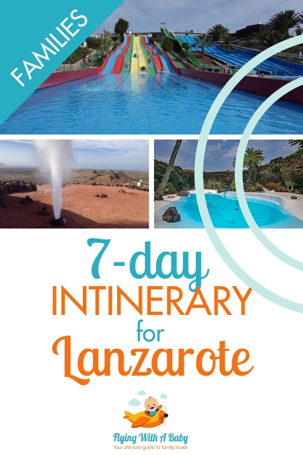 Plan a fantastic week-long stay in Lanzarote with this 7-day itinerary packed with great things to do for all ages! #familytravel