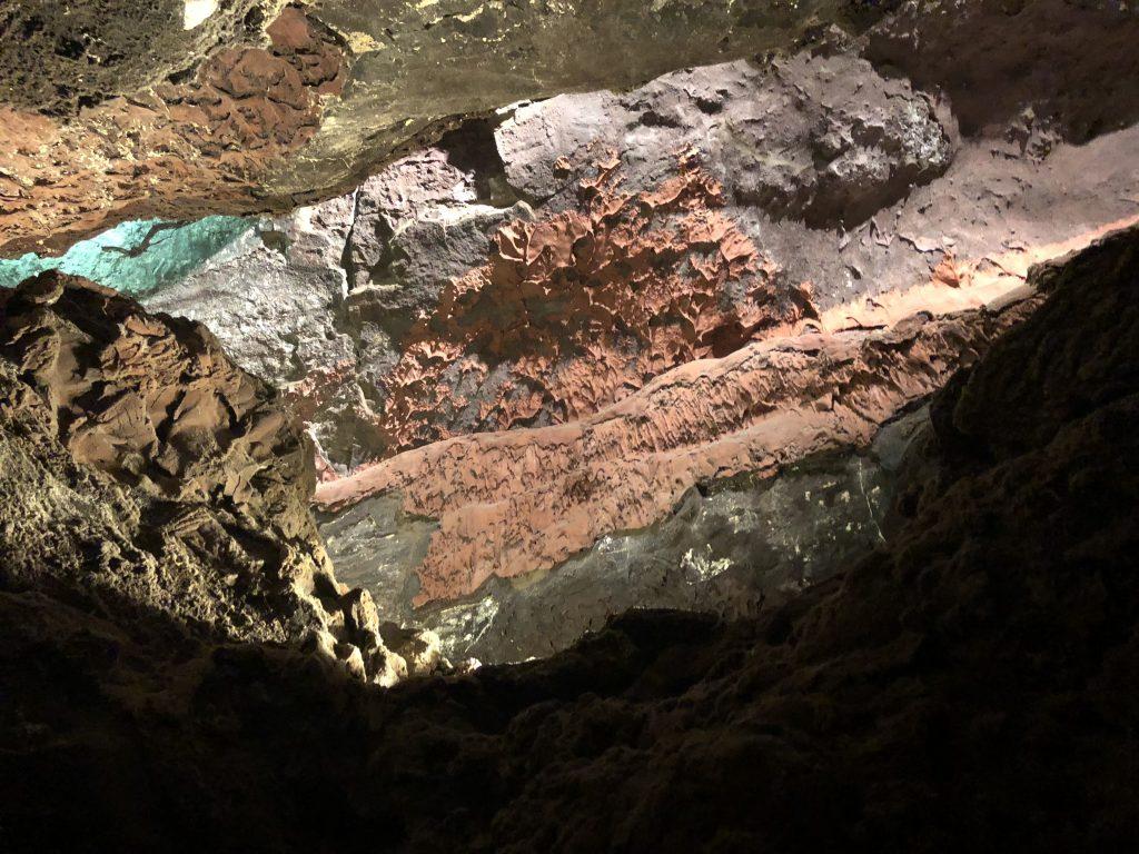 Lanzarote With Kids, Cueva de Los Verdes, lava tube, volcano
