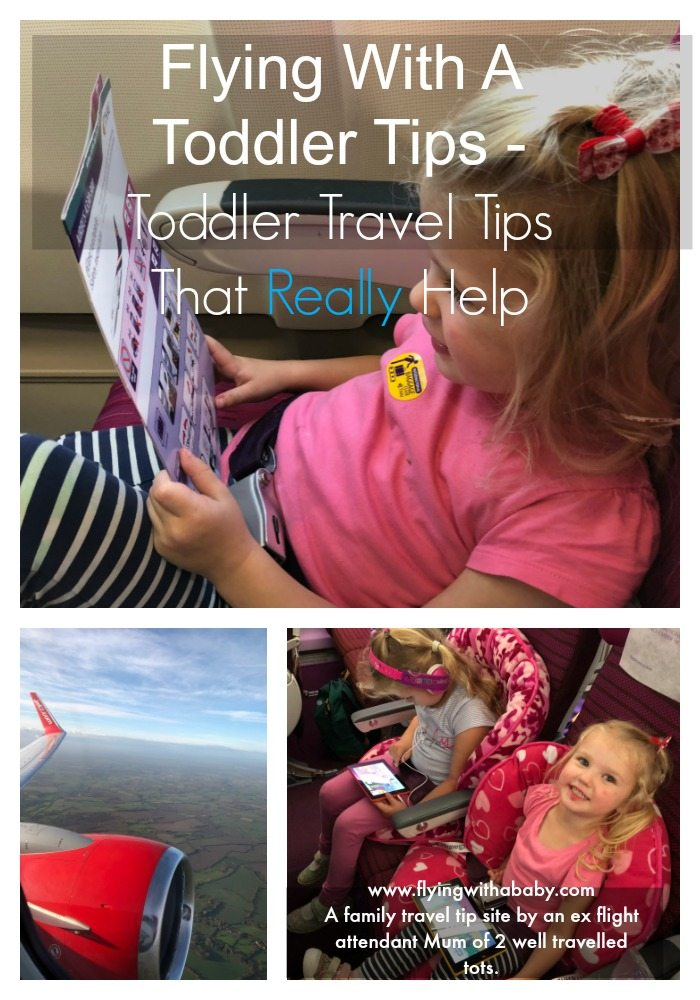 Tips For Flying With A Toddler | Flying with a toddler is the trickiest stage I've found. My eldest (born in 2011) had completed over 40 flights before she four and my youngest is attempting to catch up! #familytravel #tmom, #jetsetkids #flyingwithkids
