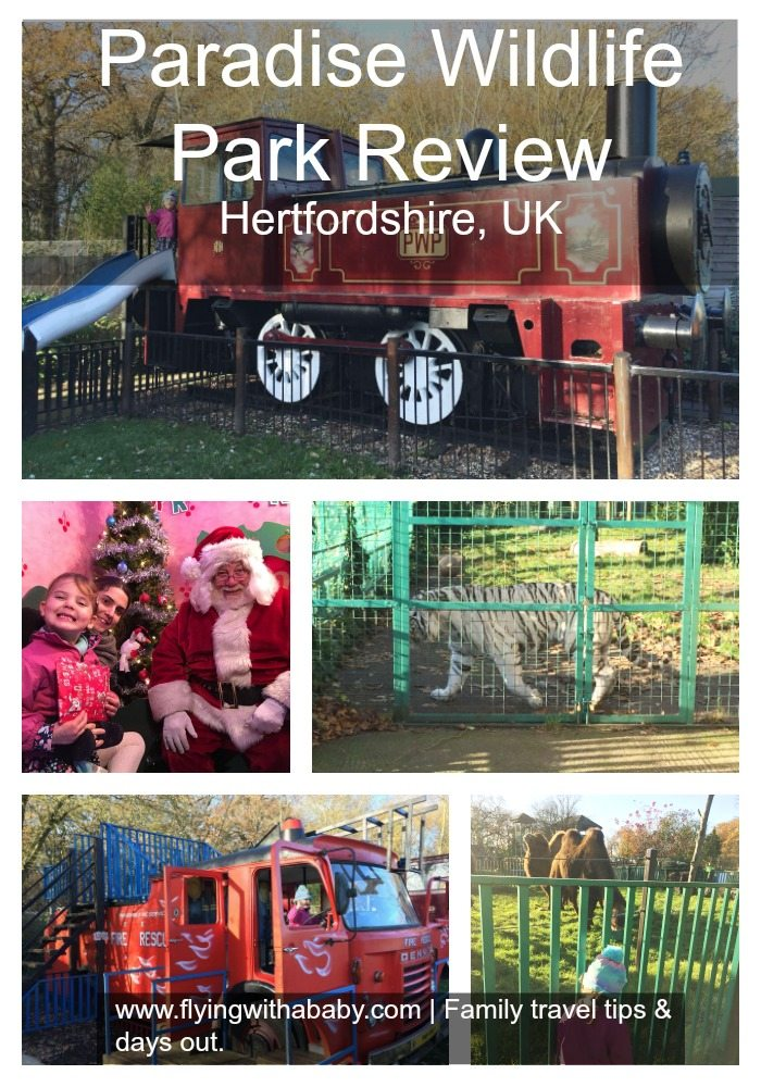 Paradise Wildlife Park review| Paradise Wildlife Park in Hertfordshire is conveniently open all year round. Apart from the obvious animal attractions the fantasy playground is great fun!