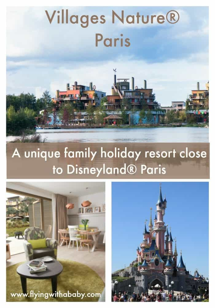 Villages Nature® Paris - A unique family holiday resort close to Disneyland® How does an eco friendly family holiday resort within easy reach of the UK, 6km fromDisneyland® Paris with a tropical aqua park paradise; an adventure forest; a spa for parents; natural lake with a beach for sunny days; a farm where kids can collectchicken eggs, look after the goats and ponies; a fun indoor play area, kids' & baby club; restaurants & shops sound?There is so much more too! #centerparcs, #villagesnature #disneylandparis #familytravel #pariswithkids #travelwithkids