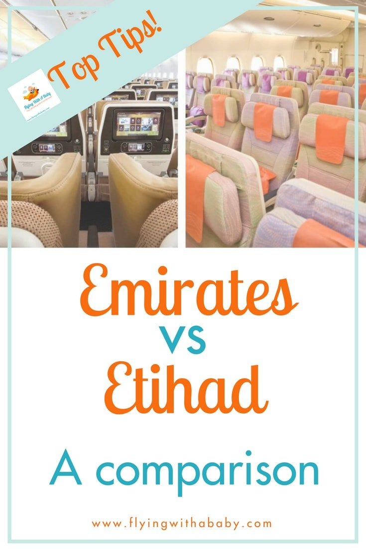 Emirates or Etihad? Which of these airlines offers the best service? What are the differences? #familytravel