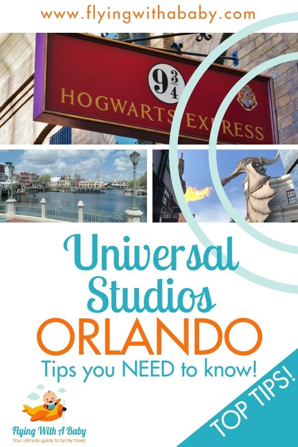 Universal Studios Orlando - top tips you need to know for planning your visit! #Florida #familytravel