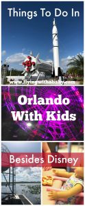 Things To Do In Orlando With Kids Besides Disney You can't escape the fact that Orlando is the 'theme park capital of the world' but despite that, there are SO many other things to do in with kids beside Disney and Universal. Whether you need some down time from all the buzz of the parks,  perhaps (dare I say it) are not really into amusements parks and rides, or simply need to find some rainy day activities in Orlando, here is a guide of things to do in Orlando with kids besides Disney.  Any Information I've found on discounted tickets is also included under each attraction. #orlando #familytravel #travelwithkids #florida