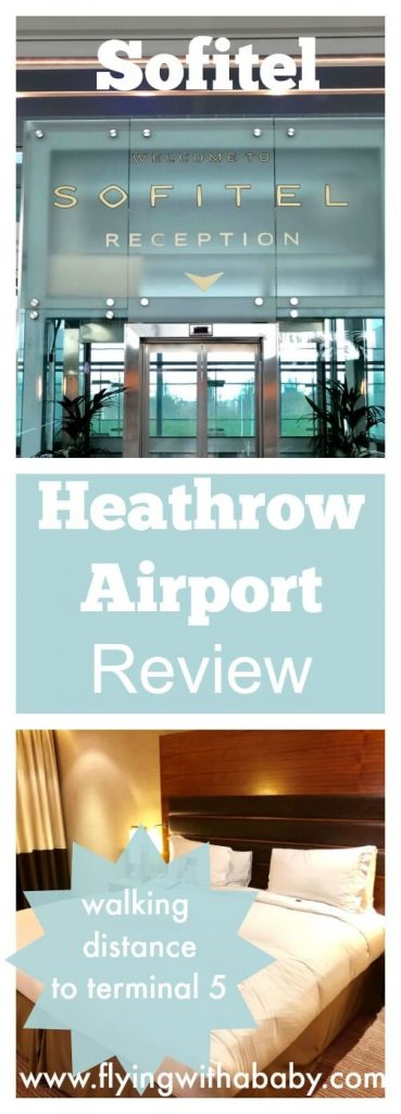 Sofitel Heathrow Review |There are several walking distance hotel choices for London Heathrow at the various terminals. If you are departing or arriving from T5 ( the British Airways dedicated terminal) then the easiest choice is the Sofitel.  #sofitel #sofitelheathrow #airporthotel