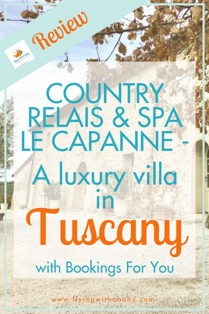 Villa in tuscany with private pool, If you are researching a luxury villa is Tuscany (with private pool), then read on to find out if the Country Relais & Spa Le Capanne is for you. With an indoor jacuzzi, fully equipped kitchen, WiFi & more it has all the mod cons set in a traditional Tuscan setting- it could be your perfect luxury villa in Italy