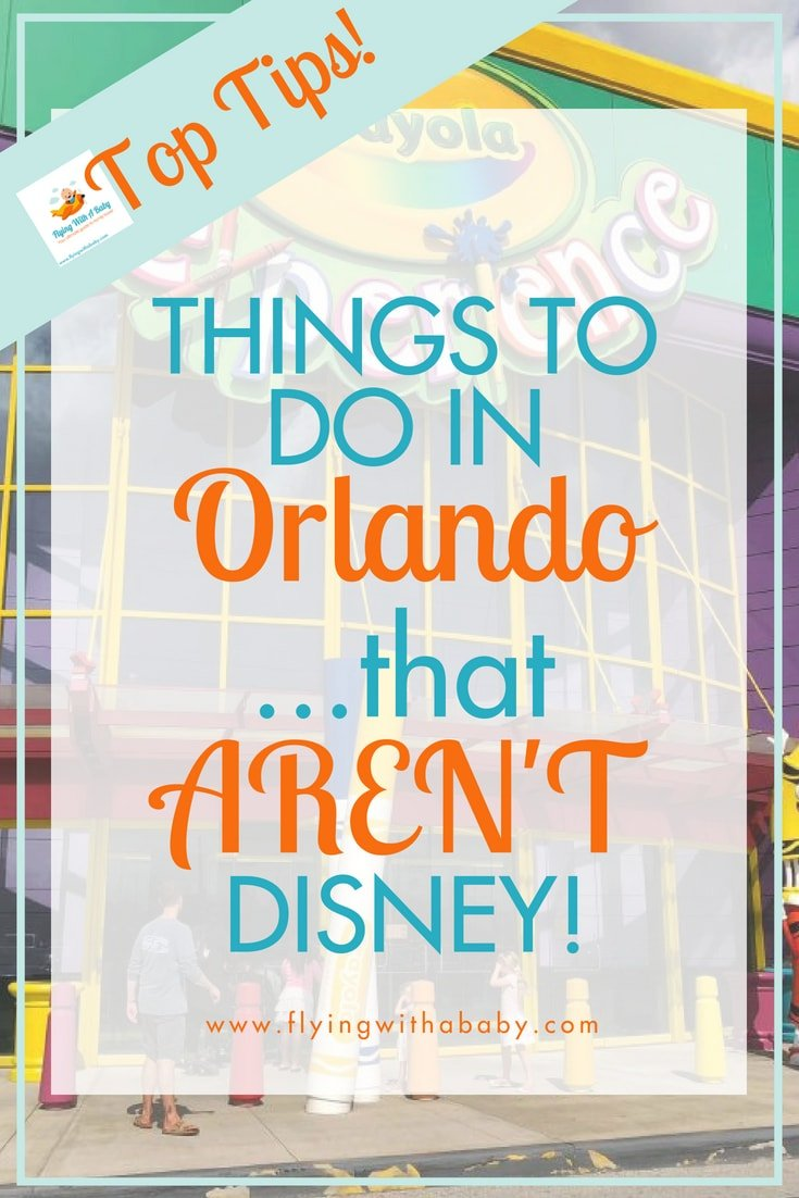 There are plenty of things to do in Orlando that AREN'T Disney! Here are some suggestions #orlando #familytravel