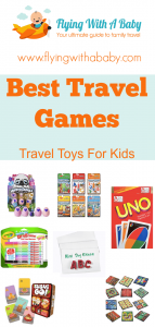 Now my eldest is over 6 we have had to add to our repertoire of travel toys for kids. However, our travel toys for toddlers still come along with us for my now 3 year old. Here are some ideas for the best travel games to pack, which are light to carry and are useful for pulling out at your destination too. #travelgames #traveltoys #familytravel #travel #toys #games
