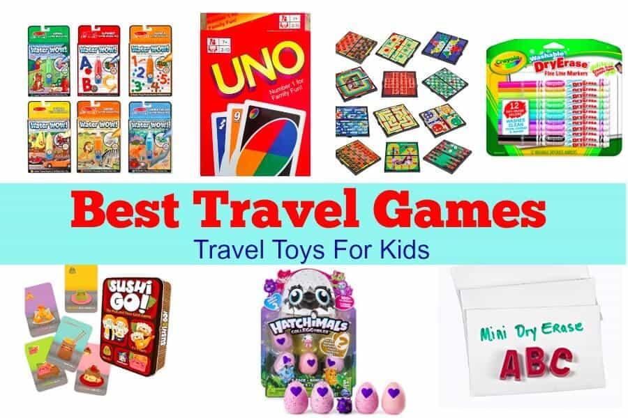 Toys For Travel : Best games for travel toys kids family