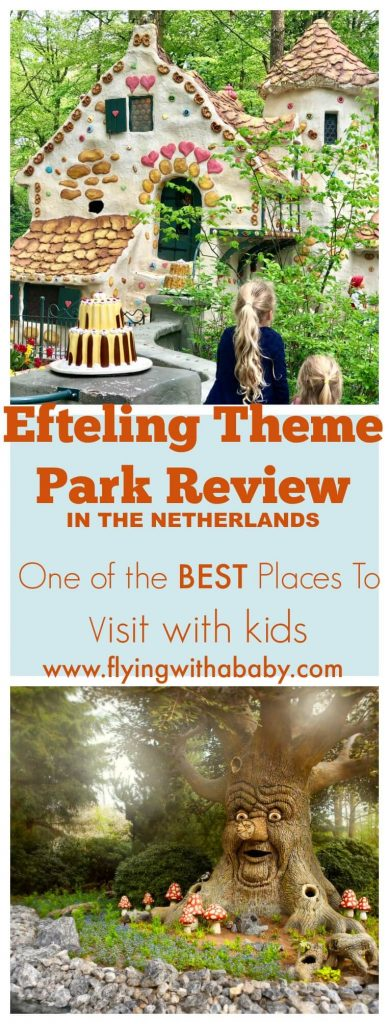If you enjoy fairytales, the magic of childhood, Hans Christian Andersen & the brothers Grimm, you and your kids will LOVE the Efteling Theme Park in the Netherlands.  I was incredibly excited to be invited on a press trip to experience it with my girls, and was not disappointed! Read on to find out why I wholeheartedly think it's one of the best places to visit with kids. #efteling #familytravel #bestthemepark #themepark #europe #netherlands