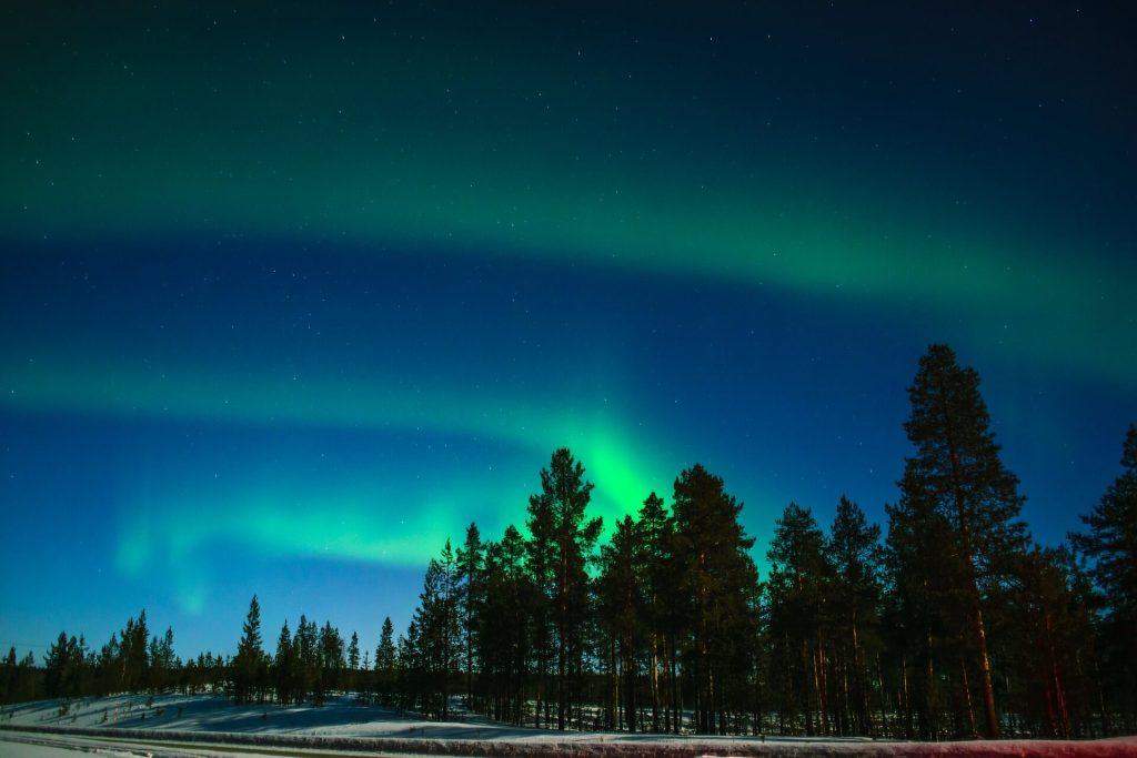 northern lights, lapland, luxury family travel