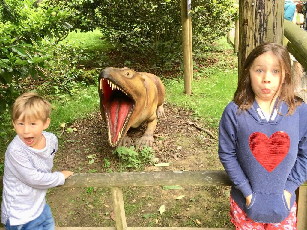 Howletts Animal Park - Days out with the kids in Kent, Howletts Animal Park - Things to do with kids in Kent, Ice Age Exhibit, Dinosaur attraction