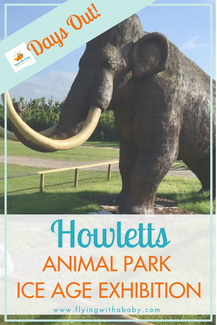 Howletts Animal Park - Days out with the kids in Kent. Howletts Animal Park has an Ice Age exhibition - see what we thought of it here! #daysoutwithkids