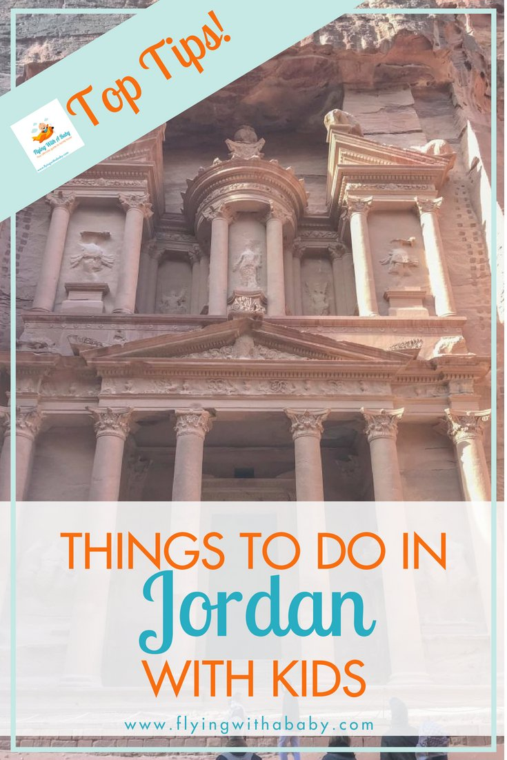 Jordan may not be on everyone's must-see list, but it makes a great destination for families! #travelwithkids