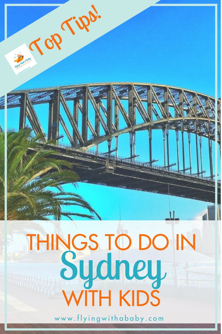 Looking for ideas of things to do with the kids while you're in Sydney? You're in luck - there's lots to entertain them! #sydney #travelwithkids