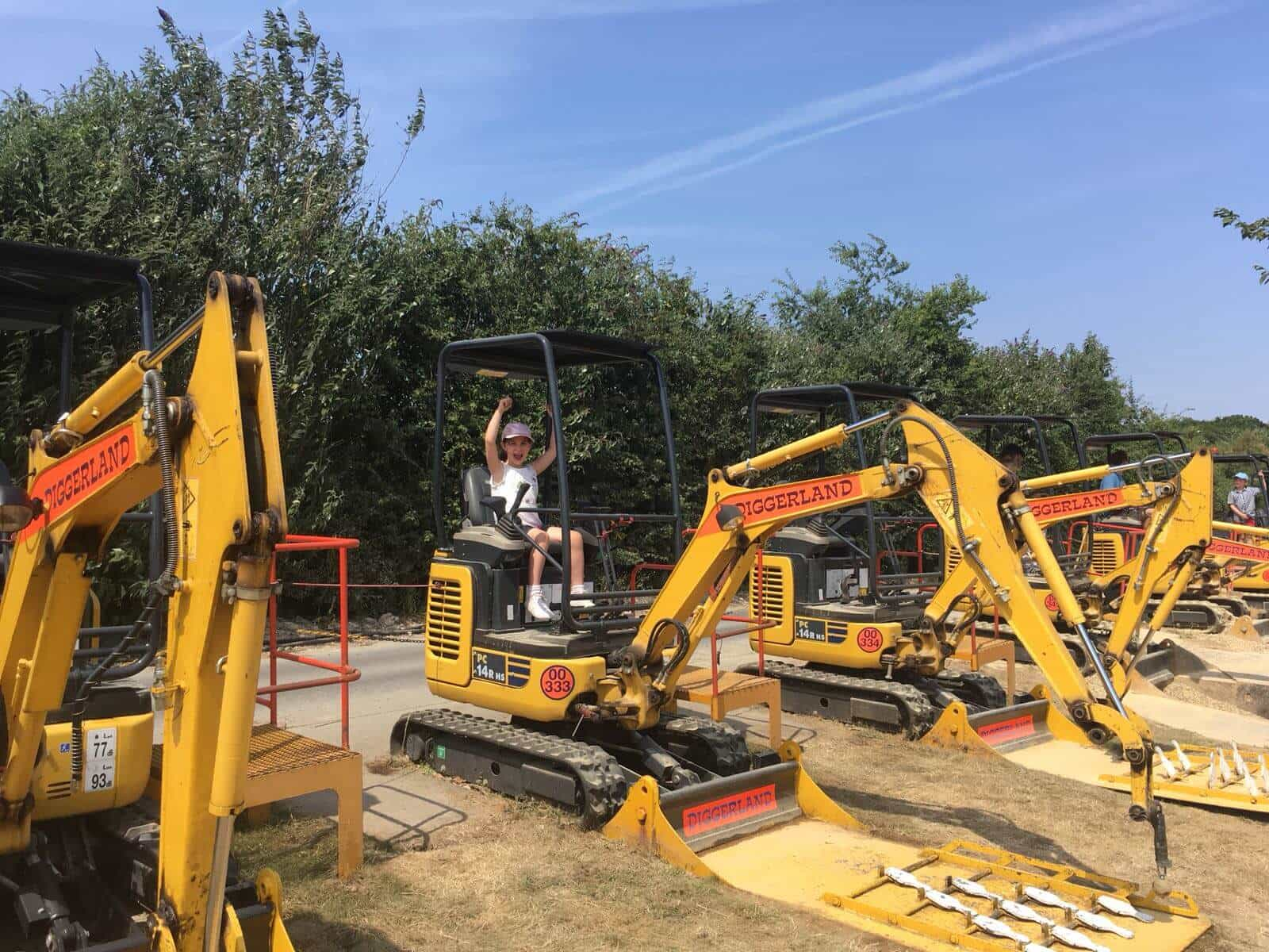 Diggerland Kent Days Out With The Kids In Kent, Skittles, Diggerland, Diggerland Days Out With The Kids In Kent