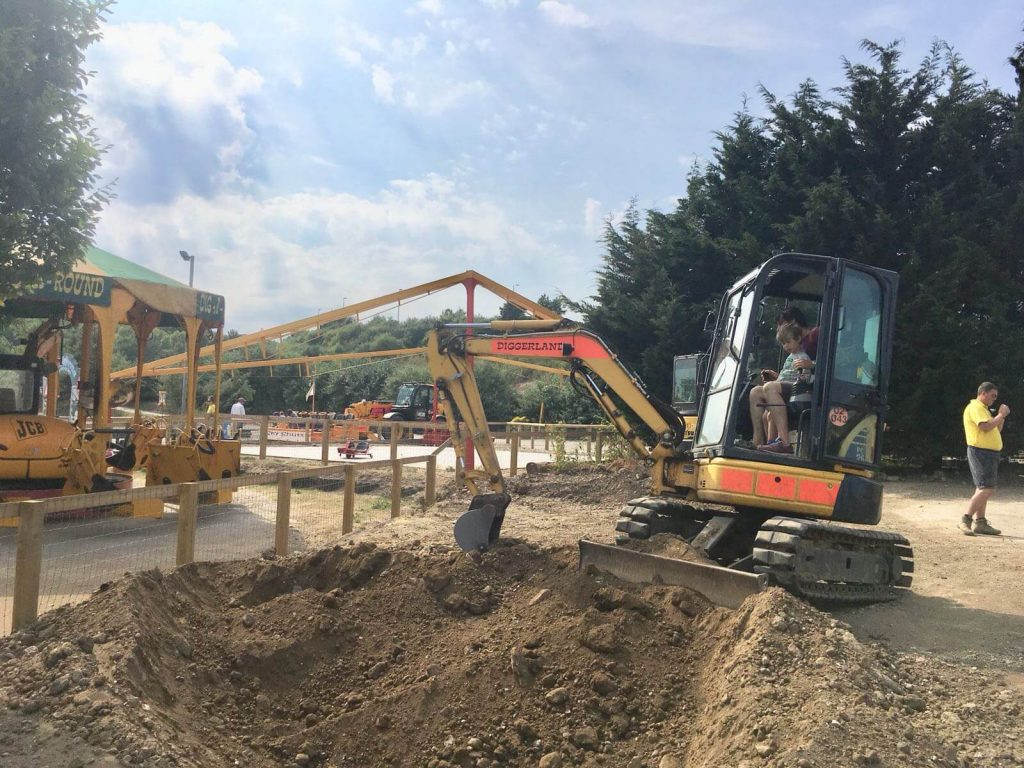 Diggerland Days Out With The Kids In Kent