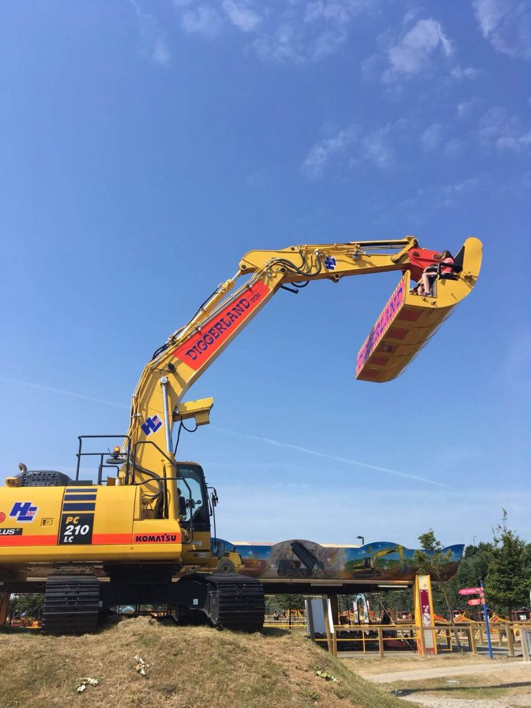 Diggerland Days Out With The Kids In Kent, spindizzy