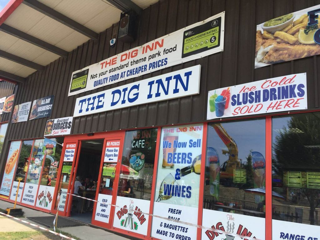 Diggerland Days Out With The Kids In Kent, The Dig Inn