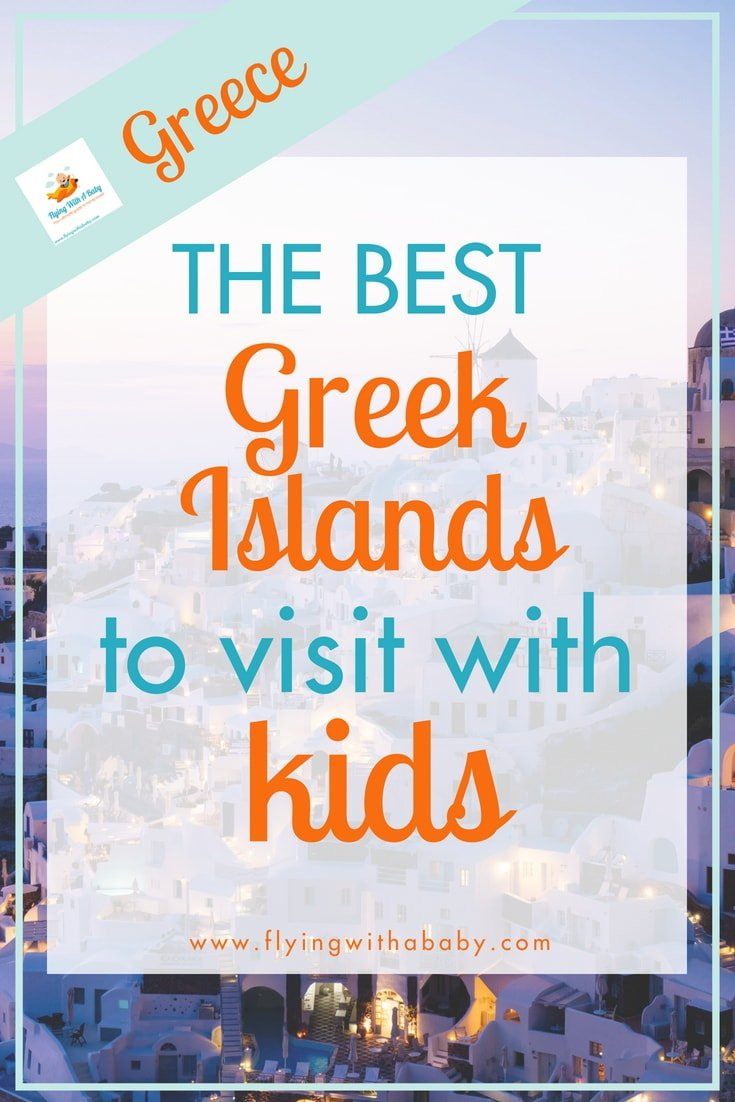 The Greek Islands have plenty for kids to do and explore - here are some of the best to visit! #familytavel #markwarner #ad