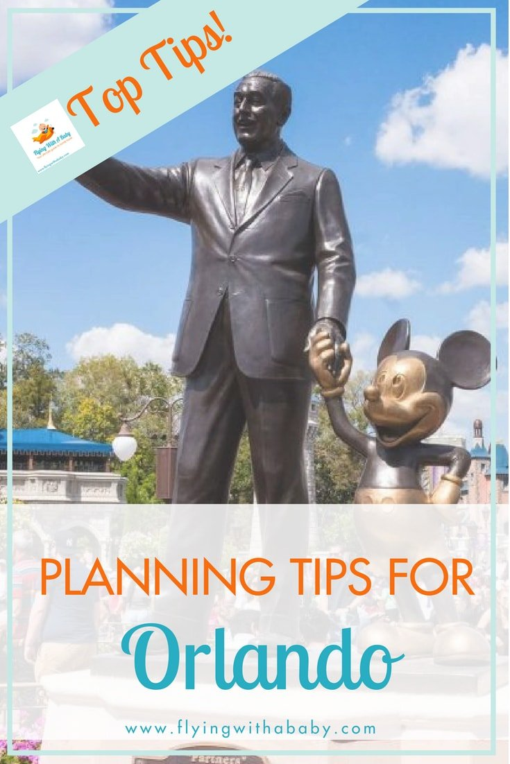 A visit to Orlando can be overwhelming - there's just so much to do and see! Use these tips to help you plan your trip and make the most of the time you have! #orlando #travelwithkids