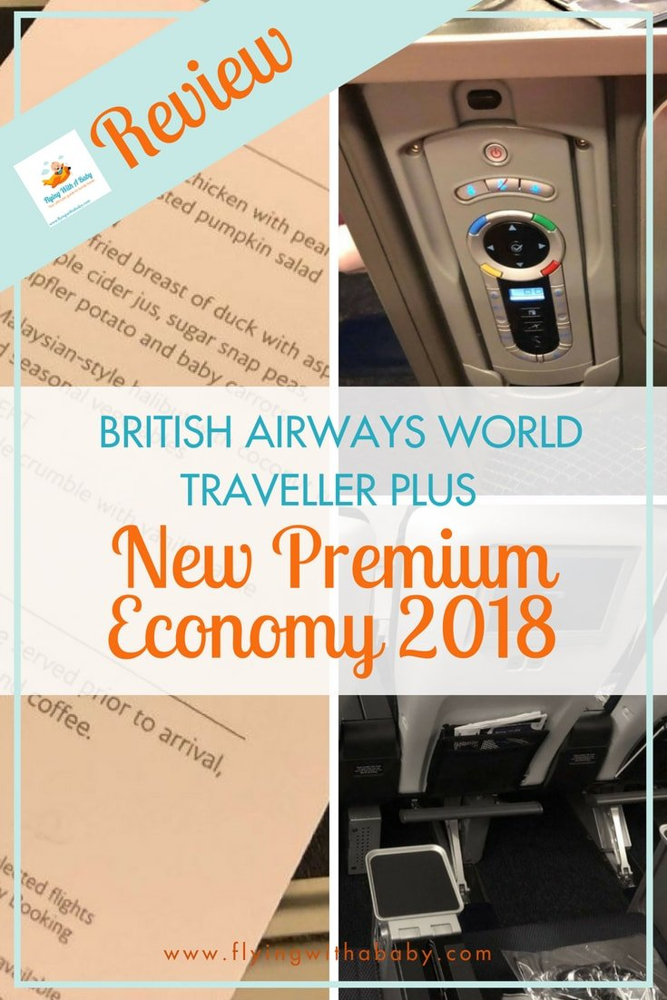 A review of the new British Airways World Traveller Plus cabin, with a peek at the British Airways premium economy on the B777. #familytravel #flyingwithababy #BritishAirways #airlinereviews