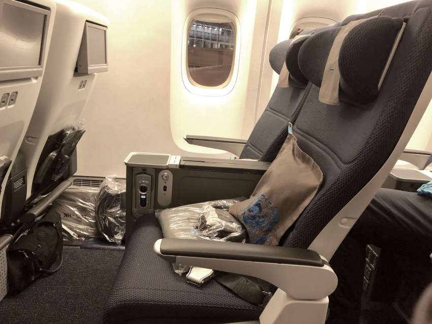 British Airways World Traveller Plus Review, | New Premium Economy 2018 B777