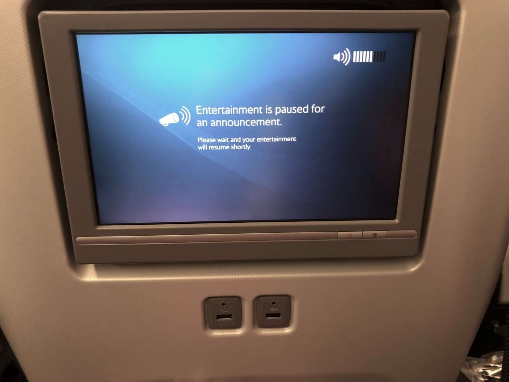 British Airways World Traveller Plus Review | New Premium Economy 2018 B777 touchscreen TV IFE