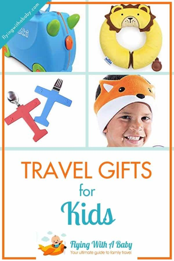 Travel gifts for kids - my gift guide for the perfect travel gifts for children of all ages! #travelgifts #kids #familytravel #christmasgiftsforkids