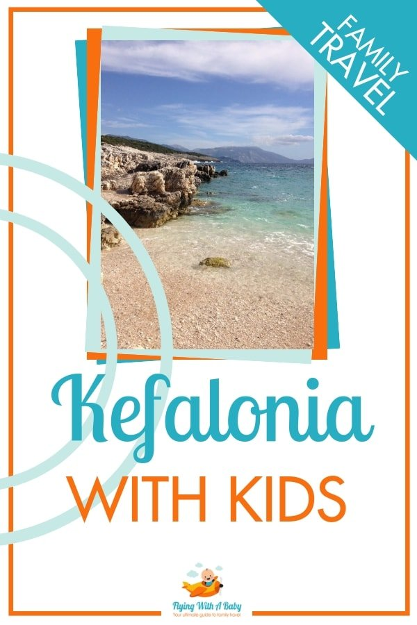 We visited the beautiful Greek island of Kefalonia - find out if we think it's perfect for a family holiday with kids #familytravel #Greece