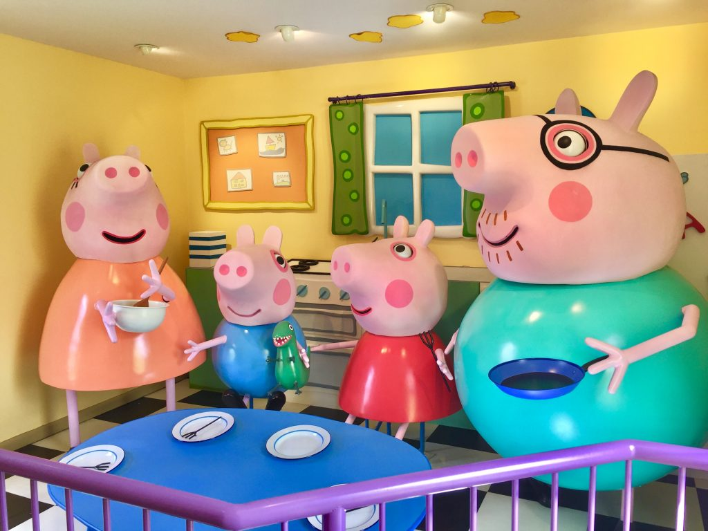 hotels near peppa pig world