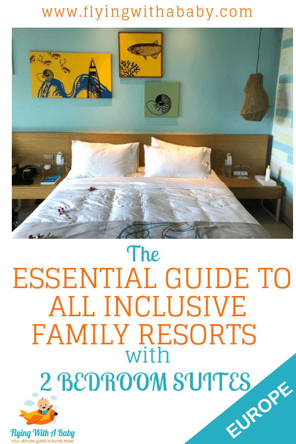 The Essential Guide to All Inclusive Family Resorts with 2 Bedroom SuitesHere you will find a continually evolving guide to all-inclusive family resorts with 2 bedroom suites. This means they have two separate bedrooms plus a living area - which will hopefully be useful to those with larger families or perhaps travelling as a group. Some rooms will be villa or bungalow style resorts whilst other resorts will be hotels with a 2 bed apartment, all inclusive holidays type. #familytravel #familyhotel #familyroom #familysuite