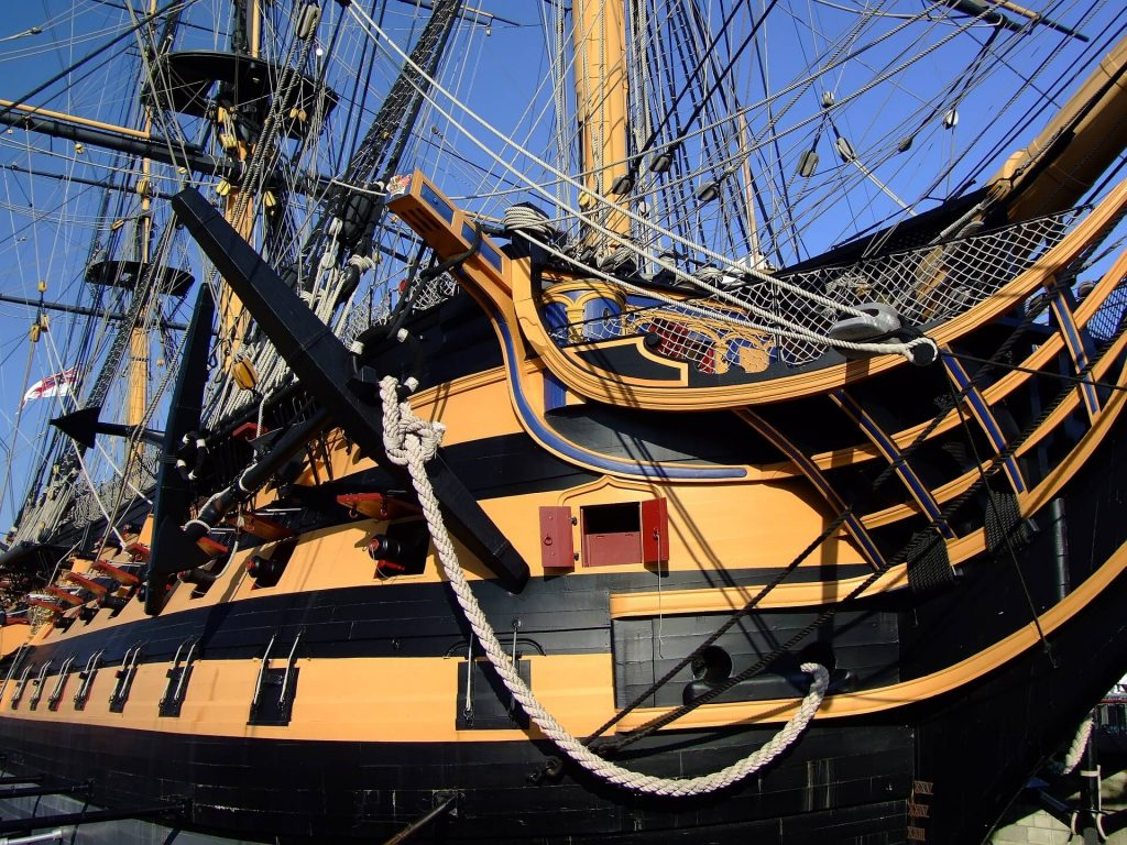 HMS Victory, Portsmouth, things to do near Peppa Pig World