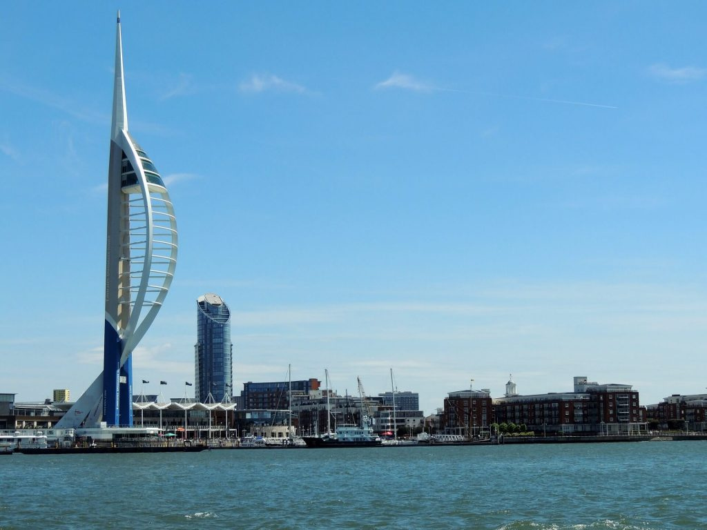 Emirates Spinnaker Tower , things to do near peppa pig world