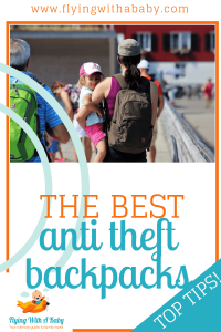 The best anti theft backpacks and anti theft bags for travel. If you are out and about with little ones it is easier to become more distracted and a target for pickpockets. This guide to the best theft proof bags (or at eh very least theft resistant) will help you decide which one is good for your next family travel trip.#familytravel #travelgear #backpack #antitheft