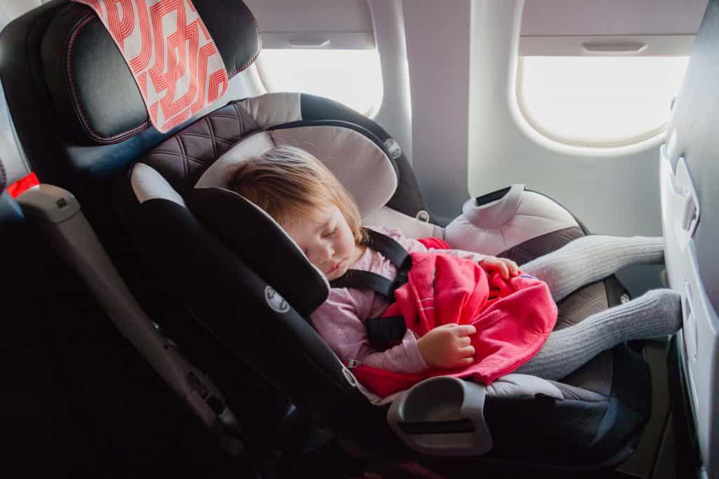 FAA approved car seats, car seats for air travel, airline approved car seats