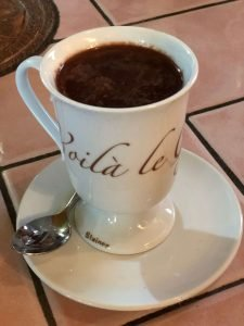 caccio Bacco hot chocolate, luino. lake maggiore with kids