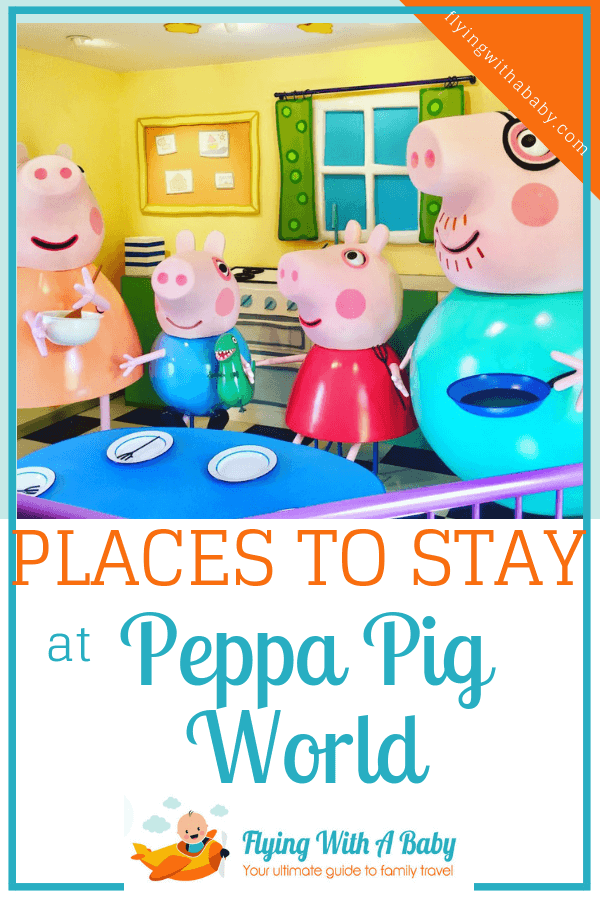 Hotels Near Peppa Pig World We absolutely loved our first visit to Peppa Pig World at Paultons Park – but as we live several hours drive away an overnight stay was our only option. Below are various accommodation options; including campsites and family friendly hotels near Peppa Pig World to suit all budgets.