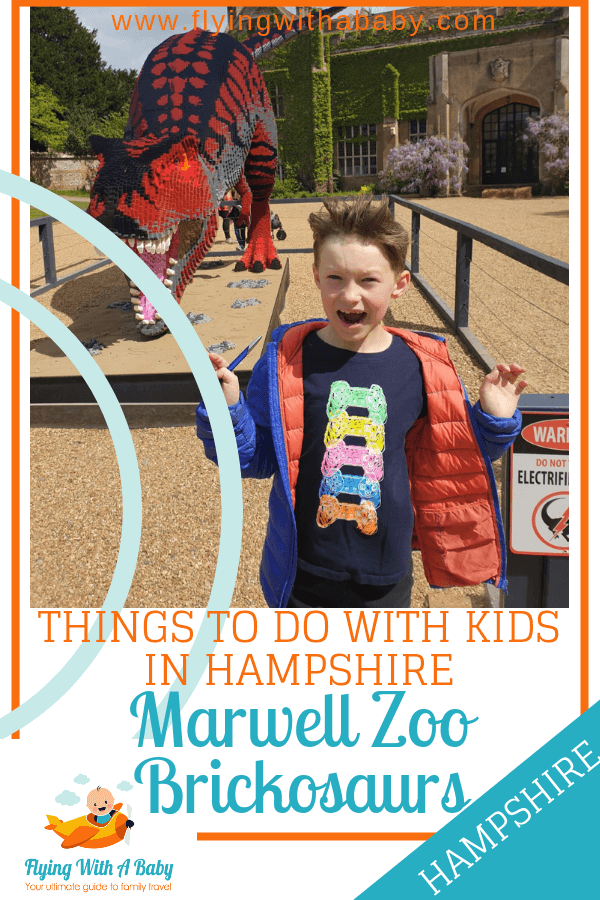 Things to do with Kids in Hampshire, Marwell Zoo, Brickosaurs