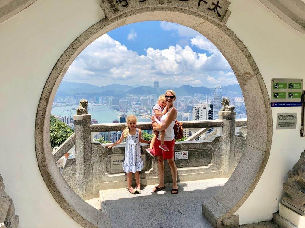 City Breaks With Kids | Hong Kong With Kids, Hong Kong Skyline from The Peak
