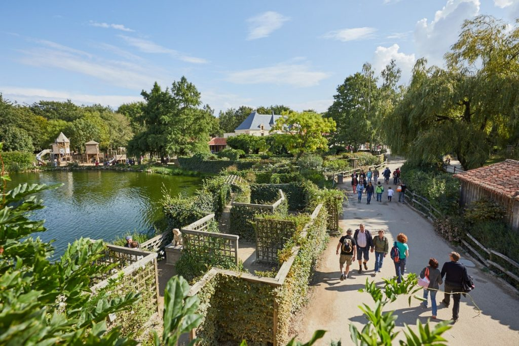 Puy du Fou with kids playground and maze