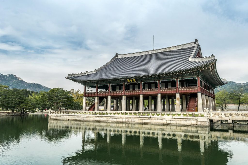 Gyeonbokgung Palace. seoul with kids
